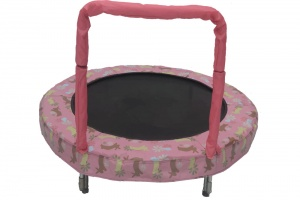 Jumpking trampolin Mini BouncerRosa Hase 121 cm rosa