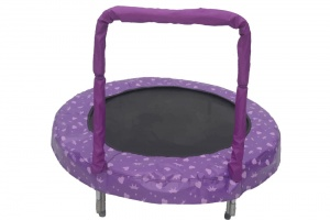 Jumpking trampolin Mini BouncerPrinzessin 121 cm violett