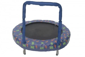 Jumpking trampolin Mini BouncerSpace 121 cm blau