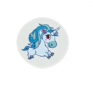 Kamparo Unicorn eraser blue junior