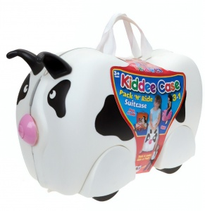 Kamparo koffer Ride-On koe 18 liter wit