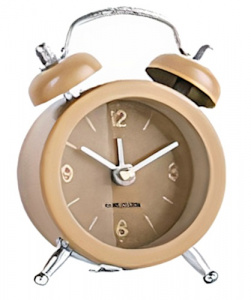 Karlsson Karlsson alarm clock Mini Twin Bell 5 x 7,5 cm yellow