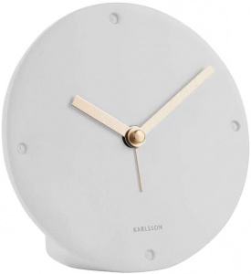 Karlsson alarm clock Cloak 12 cm polyresin white