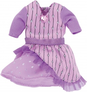 Käthe Kruse cruselings Chloe doll dress magic outfit purple