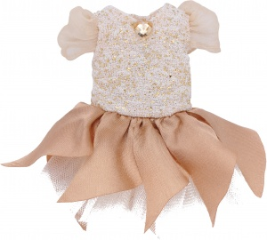 Käthe Kruse cruselings Luna doll dress magic outfit beige
