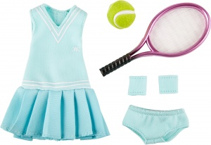 Käthe Kruse cruselings Luna tennis training outfit 5-piece