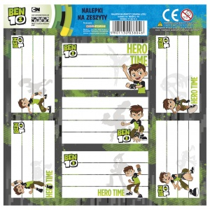 Kidea sticker sheet Ben 10 7-part