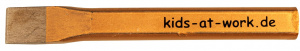 Kids At Work flat chisel length 15 cm (A600067)