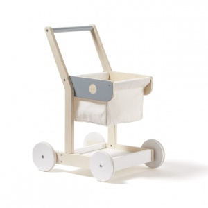 Kid's Concept shopping trolley wood 50 cm