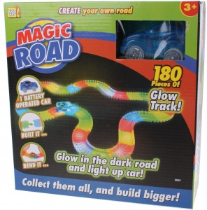Kids Fun piste de course Magic road blue 180 pièces