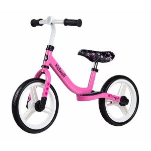 kidwell Sparrow loopfiets 12 Inch Junior Pink/Black