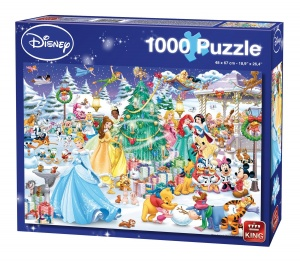 King legpuzzel Disney Winter Wonderland 1000 stukjes