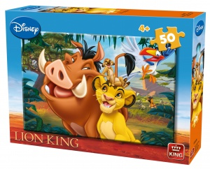 King puzzle Löwe King 50 Teile 30 x 20 cm