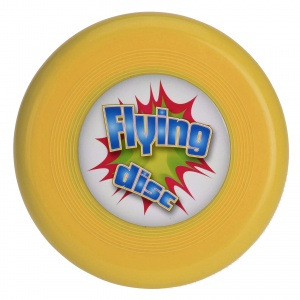 Free and Easy frisbee 15 cm geel