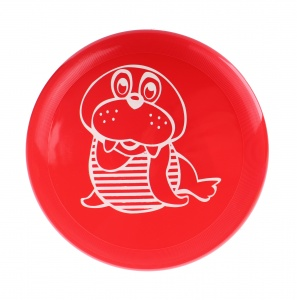 Free and Easy frisbee 22 cm rood
