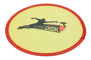 Free and Easy frisbee geel 22 cm
