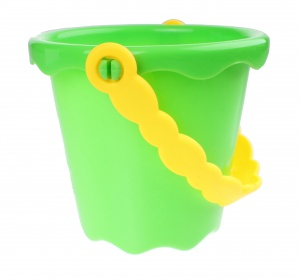 Free and Easy Beach bucket green