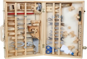 Small Foot Wooden Toolbox Deluxe