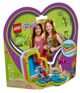 LEGO Friends: Mia's heart shaped summer box (41388)