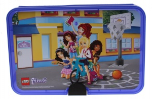 LEGO Friends: black suit purple 18 x 26 x 7 cm