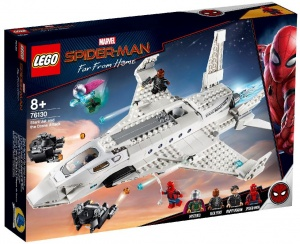 LEGO Heroes: Spider-Man far from home - straaljager (76130)