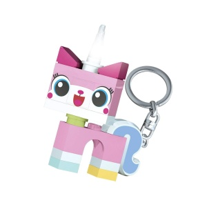 LEGO Movie 2: Unikittykey ring with light 7 cm pink