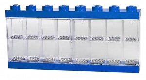 LEGO storage box The Lego Movie minifigures blue