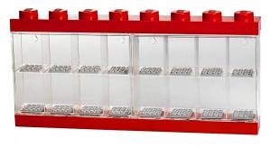 LEGO storage box The Lego Movie minifigures red