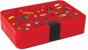 LEGO sorting case 27 cm red