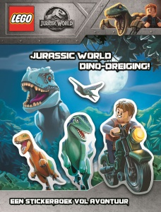 LEGO livre d'autocollants Jurassic World - Menace de Dinoz (NL)