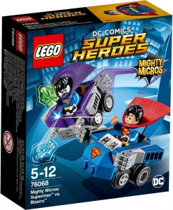 LEGO Super Heroes: Mighty Micros Superman vs Bizarro (76068)