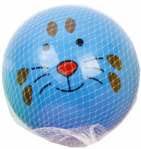 LG-Imports ball animal face junior 23 cm blue