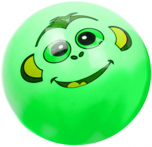 LG-Imports ball animal face junior 23 cm green