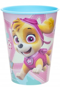 LG-Imports cup Paw Patrol 260 ml blue/pink