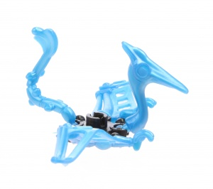 LG-Imports kit de construction mini Dino bleu 3 cm