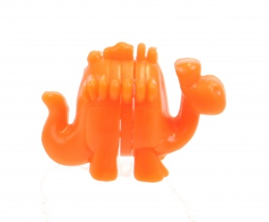 LG-Imports kit de construction mini Dino orange 3 cm