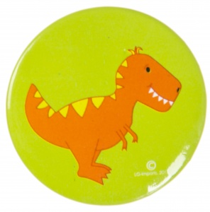 LG-Imports button dino groen 4,5 cm