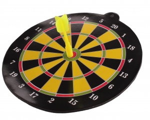 LG-Imports dartboard magnetic yellow 20 cm