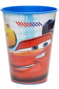 LG-Imports goblet cars 260 ml red/blue