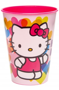 LG-Imports drinkbeker Hello Kitty 260 ml roze
