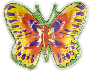 LG-Imports patience game maze butterfly junior 5 x 6,5 cm