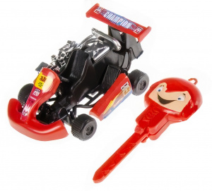 LG-Imports go-kart Launchboys 9 cm red 2-piece