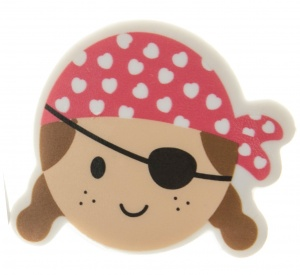 LG-Imports eraser pirate girls red