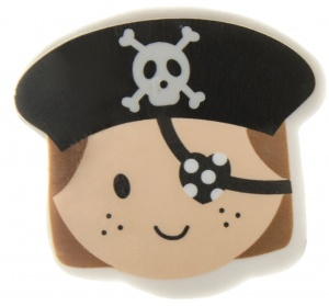 LG-Imports eraser pirate girls black
