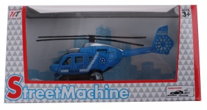 LG-Imports helikopter die cast blauw