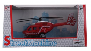 LG-Imports helikopter die cast rood