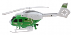 LG-Imports Helikopter groen 23 cm