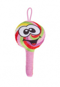 LG-Imports knuffel lolly junior 18 cm pluche roze
