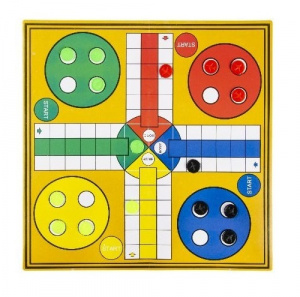 LG-Imports travel game Man doesn't aggravate you: Ludo junior 18-piece