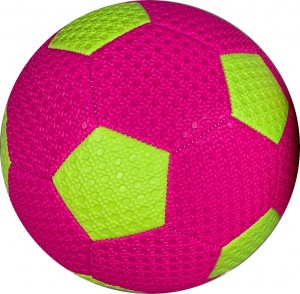 LG-Imports minivoetbal 20 cm paars